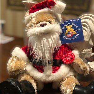 Santa Build A Bear NWT